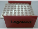 Part No: x146c02pb03  Name: Boat Hull Smooth Middle 8 x 6 x 3 1/3, Deck Color White with 'Legoland' Pattern on Both Sides (Stickers)