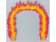 Part No: x603  Name: Foam Racers, Flame Hoop 26 x 24