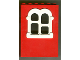 Part No: x637c03  Name: Fabuland Building Wall 2 x 6 x 7 with Squared White Window