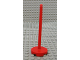 Part No: x838  Name: Fabuland Umbrella Stand with Round Base
