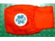 Part No: x980pb01  Name: Duplo Cloth Sleeping Bag with EMT Star of Life Pattern (3617)