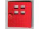 Part No: x988  Name: Duplo Door / Window Pane with Four Windows Narrow