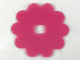 Part No: clikits036  Name: Clikits Icon Accent, Rubber Flower 10 Petals 5 3/8 x 5 3/8