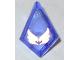 Part No: 35649pb03  Name: Tile, Modified 1 x 2 Diamond with Elemental Wind Pattern