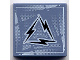 Part No: 3068bpb0069  Name: Tile 2 x 2 with Groove with Alpha Team Arctic Lightning Logo Pattern
