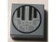 Part No: 3070bpb008  Name: Tile 1 x 1 with Groove with SW Mini TIE Interceptor Pattern - Set 6965