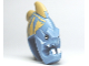 Part No: 92553pb01  Name: Minifigure, Head Modified Jawson with Fins and Teeth Pattern