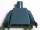 Part No: 973c54  Name: Torso Plain / Sand Blue Arms / Dark Bluish Gray Hands