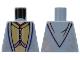 Part No: 973pb0742  Name: Torso Harry Potter Dumbledore Dress Robe with Vest Pattern