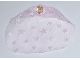 Part No: 50939  Name: Belville Cloth Bed Veil - Medium, with Sparkly Stars Pattern