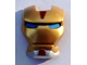 Part No: 10908pb02  Name: Minifigure, Visor Top Hinge with Gold Face Shield, Blue Eyes and Silver Chin Pattern