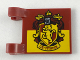 Part No: 2335pb182  Name: Flag 2 x 2 Square with Gryffindor House Crest Pattern