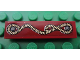 Part No: 2431pb170  Name: Tile 1 x 4 with Rope Pattern (Sticker) - Set 7325
