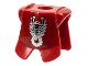 Part No: 2587pb09  Name: Minifigure, Armor Breastplate with Leg Protection, Vladek Scorpion Black & Silver Pattern