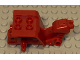 Part No: 30187c  Name: Tricycle Body Top with Dark Red Chassis