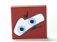Part No: 3068bpb0449  Name: Tile 2 x 2 with Groove with Blue Eyes on White Background Pattern