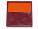 Part No: 3068bpb0952  Name: Tile 2 x 2 with Groove with Orange Stripe Pattern (Sticker) - Set 75141