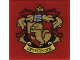Part No: 3068bpb1261  Name: Tile 2 x 2 with Groove with 'GRYFFINDOR' House Crest Pattern