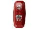 Part No: 51810pb01  Name: Nestle Promo Figure Shadow Knight Shield with Scorpion Pattern (Stickers) - Set 4942