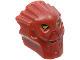 Part No: 53590pb01  Name: Minifigure, Head Modified Bionicle Inika Toa Jaller