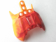 Part No: 57559pb04  Name: Bionicle Barraki Carapar Chest Cover, Marbled Bright Light Orange Pattern