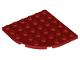 Part No: 6003  Name: Plate, Round Corner 6 x 6