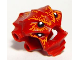 Part No: 92945pb01  Name: Minifigure, Head Modified Lobster Pattern