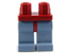 Part No: 970c55  Name: Minifigure, Legs with Hips - Sand Blue Legs