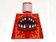 Part No: 973pb0756  Name: Torso Atlantis Crab with Open Mouth Pattern