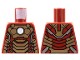 Part No: 973pb1390  Name: Torso Armor with White Circle and Gold Plates (Mark 42) Pattern