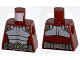 Part No: 973pb1414  Name: Torso Spider-Man Body Armor with Silver Belt Pattern