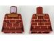 Part No: 973pb3109  Name: Torso Female Shirt with Bricks Pattern
