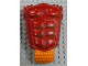 Part No: gal51  Name: Galidor Torso Aquart with Orange Hips