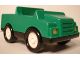 Part No: 2218c02  Name: Duplo Car with 2 x 2 Studs and Black Base