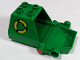 Part No: 2247c01pb01  Name: Duplo Vehicle Container with Recycling Arrows Pattern and Opening Rear Door