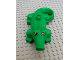 Part No: 2284pb01  Name: Duplo Alligator/Crocodile First Version with Immobile Jaw