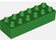 Part No: 2300  Name: Duplo, Brick 2 x 6