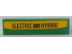 Part No: 2431pb551  Name: Tile 1 x 4 with 'ELECTRIC HYBRID' Pattern (Sticker) - Set 60154
