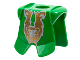 Part No: 2587pb07  Name: Minifigure, Armor Breastplate with Leg Protection, Rascus Gold Monkey Pattern