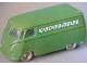 Part No: 258pb06  Name: HO Scale, VW Van with Green Base and KASTNER & ÖHLER Pattern