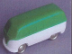 Part No: 258wpb09  Name: HO Scale, VW Window Van with White Base - Completely Colored Top