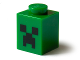 Part No: 3005pb018  Name: Brick 1 x 1 with Black Minecraft Creeper Face Pattern