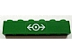 Part No: 3009pb136  Name: Brick 1 x 6 with Train Logo White Pattern (Sticker) - High Speed Train Sets