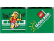 Part No: 30144pb131  Name: Brick 2 x 4 x 3 with Legoland Windsor Resort and Olympic Athlete #15 Pattern