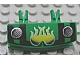 Part No: 30622pb01  Name: Vehicle, Grille 1 x 4 with Two Pins with Fire Pattern