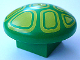 Part No: 31219pb02  Name: Duplo Plant Mushroom, 2 x 2 Base with Yellow Geometric Pattern