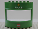 Part No: 31253pb2  Name: Duplo Building with Window 3 x 8 x 6 Round with LEGO logo and Police Pattern