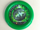 Part No: 32171pb037  Name: Throwbot Disk, Amazon / Jungle, 2 pips, leaf logo Pattern