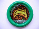 Part No: 32171pb042  Name: Throwbot Disk, Amazon / Jungle, 7 pips, glowing swirled wood Pattern