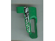 Part No: 32527pb04  Name: Technic, Panel Fairing # 5 Small Short, Large Hole, Side A with Number 5, White, Black and Green Pattern (Sticker) - Set 8469